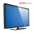 Monitor lcd tv vector image vector image