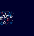 neon star background design vector image