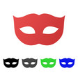privacy mask flat gradient icon vector image vector image