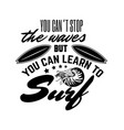 quote typographical background with hand drawn vector image vector image