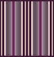 vertical stripes purple seamless print vector image vector image