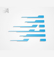 a letter symbol vector image vector image