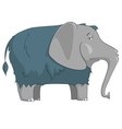 cartoon character elephant vector image vector image