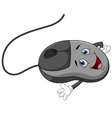 Cartoon computer mouse vector image