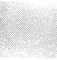 distress halftone texture vector image vector image
