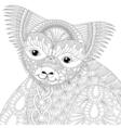 entangle happy friendly koala for adult anti vector image