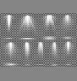 floodlight light spotlight stage beam spot lamp vector image vector image