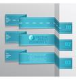 Modern blue banner Item vector image vector image