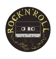 Rock and Roll Cassette vector image vector image