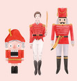 watercolor nutcracker ballet vector image