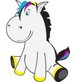 little horse vector image vector image