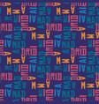 madrid pattern seamless design vector image