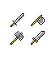 pixel object art vector image vector image