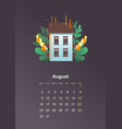 wall calendar page 2021 one month