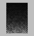 grey circle pattern brochure background vector image