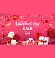 holiday sale banner vector image vector image