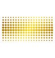 quote golden halftone matrix vector image