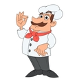 Smiling chef 2 vector image