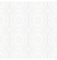 White vintage geometric texture in 1960s style vector image vector image