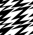 Black and white abstract lightning seamless vector image vector image