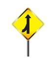 Caution Sign road vector image