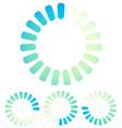 circular preloader buffer symbol or general vector image vector image