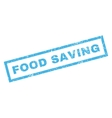 Food Saving Rubber Stamp vector image vector image