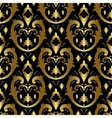 Gold ornament in victorian style vector image vector image
