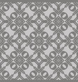 grey ornamental seamless line pattern vector image vector image