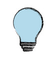 light bulb icon vector image vector image