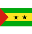 Sao Tome And Principe vector image