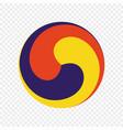 symbol korean shamanism vector image