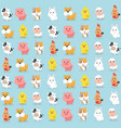 animal wallpaper postcard vector image