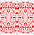 Design seamless colorful twirl movement pattern vector image