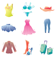 Fashion Clothes Set vector image vector image