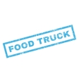 Food Truck Rubber Stamp vector image vector image
