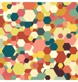 Geometric background abstract hexagonal pattern vector image