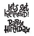 irreverent birthday funny comical birthday vector image vector image