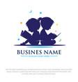 read logo designs vector image vector image