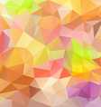 pastel colors abstract polygon triangular pattern vector image