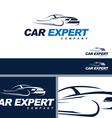 Car Automotive Symbol Branding ElementTemplate vector image