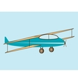 airplane wing agricultural aircraft vector image vector image