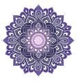 Beautiful Indian floral mandala ornament vector image vector image
