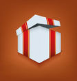 Box icon opened vector image