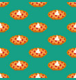 cherry pie seamless pattern vector image vector image