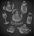 design restaurant elements vector image vector image