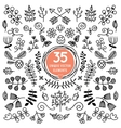 Eight Versatile wreaths Ornament for decorating vector image vector image