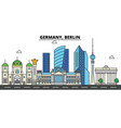 Germany berlin city skyline architecture