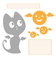 Halloween graphics vector image vector image