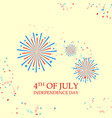 happy independence day america vector image vector image